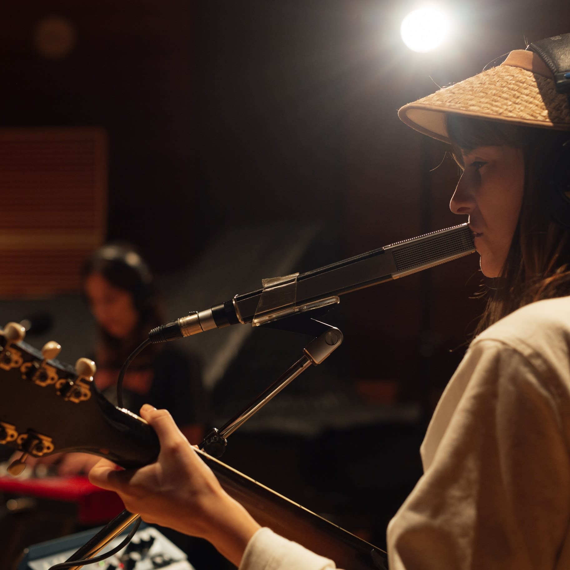 Faye Webster performs in The Current studio.