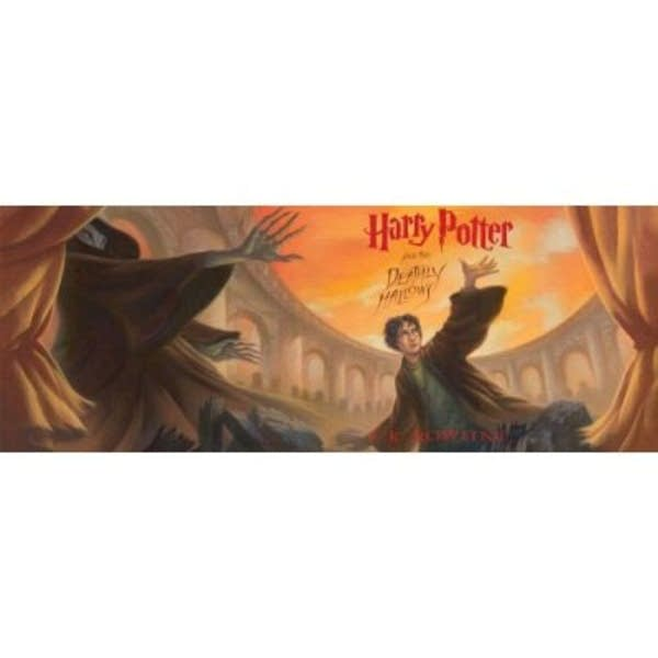 Harry Potter Book Back Cover : Illustrator says goodbye to harry potter series