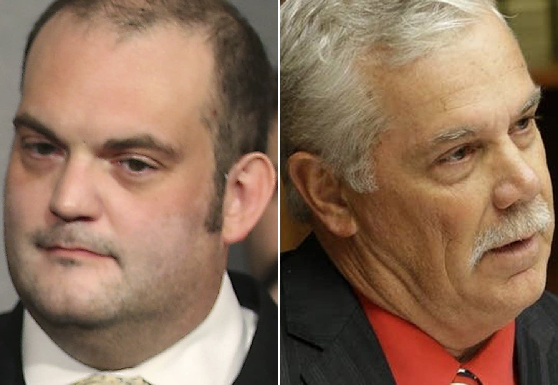 DFL state Sen. Dan Schoen and Republican Rep. Tony Cornish.