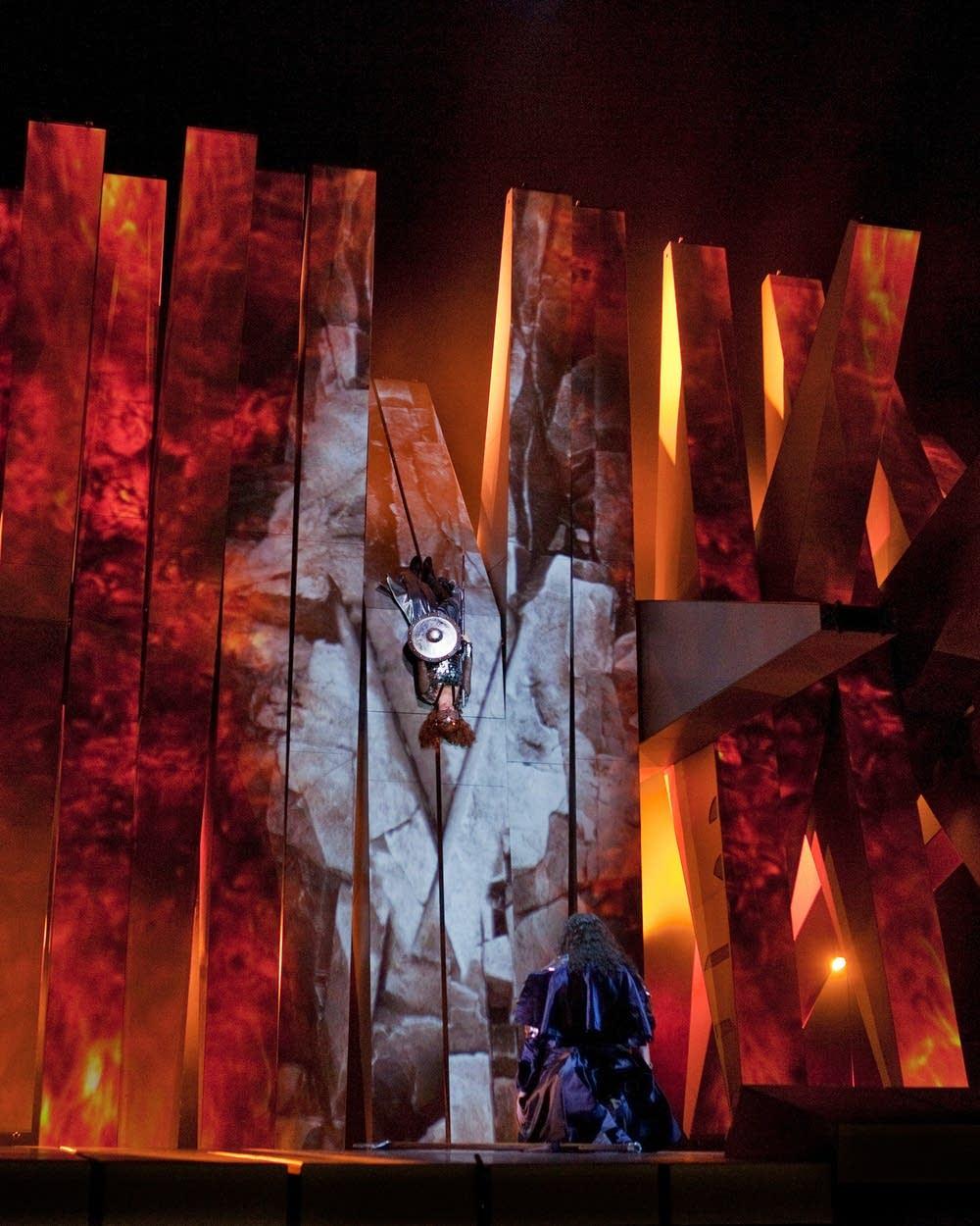 The Act 3 finale of Wagner's Die Walkure