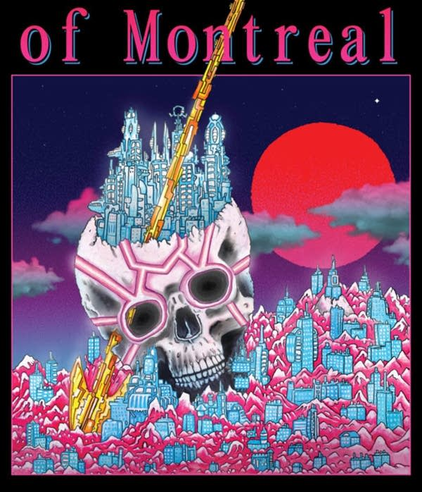 Album cover: 'White Is Relic/Irrealis Mood' by of Montreal.