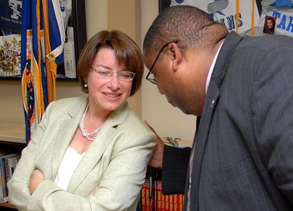 U.S. Sen. Amy Klobuchar