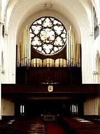 1996 Kimball-Morel organ at the Cathedral of the Immaculate Conception,...