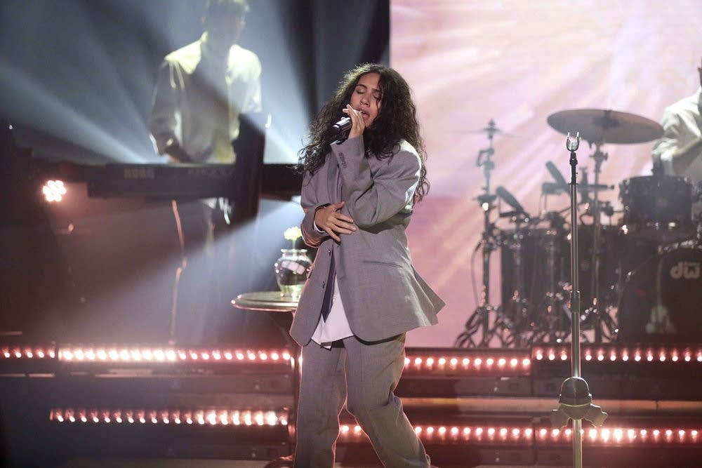 Alessia Cara performs on 'The Tonight Show Starring Jimmy Fallon'