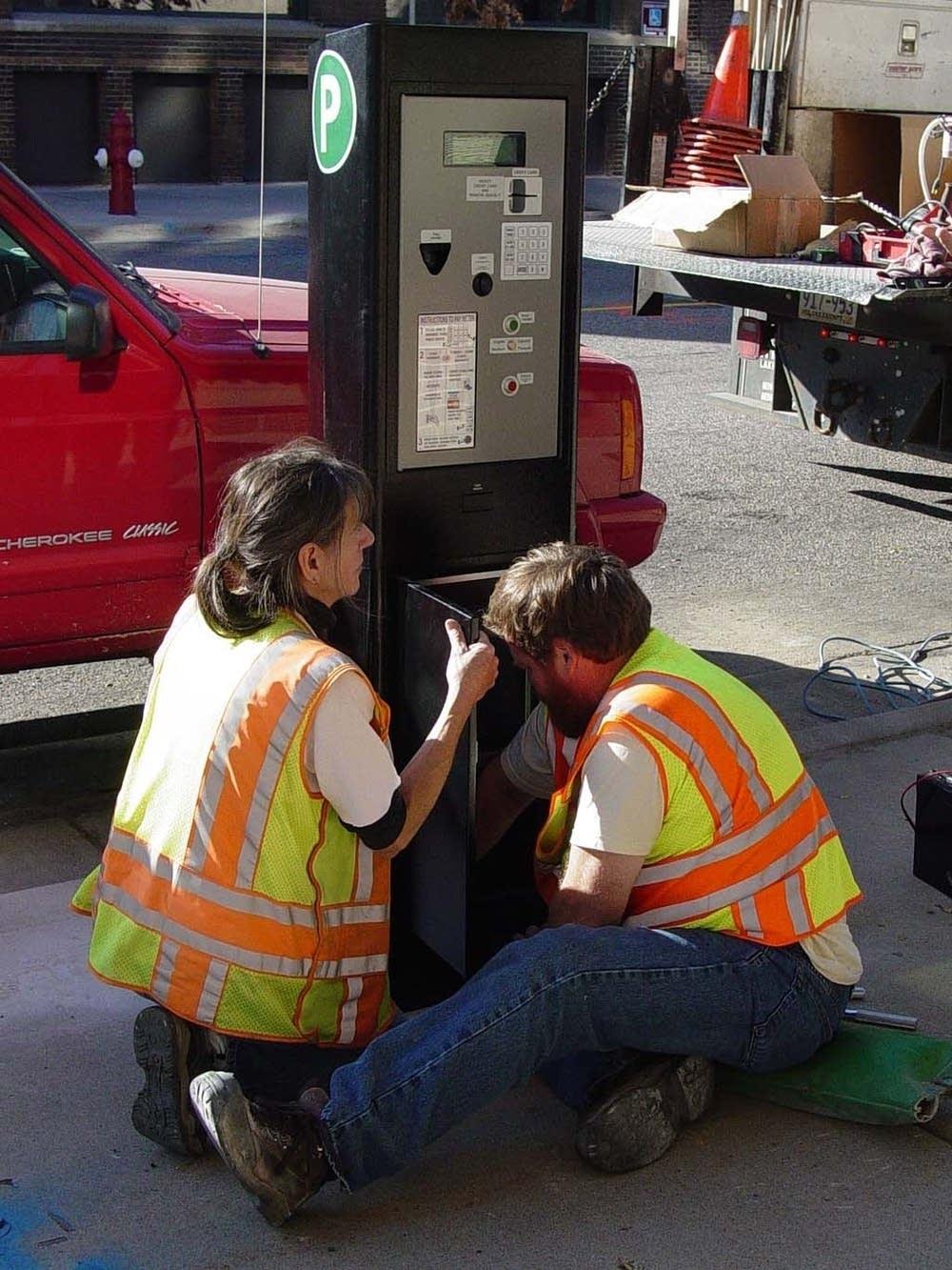 New parking meter