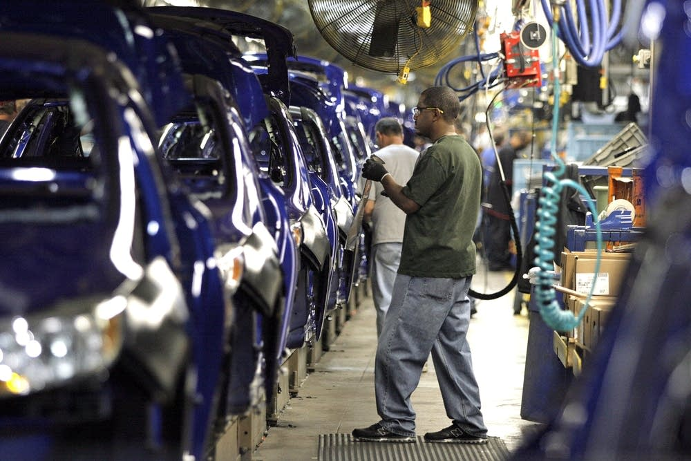 Ford plant worker