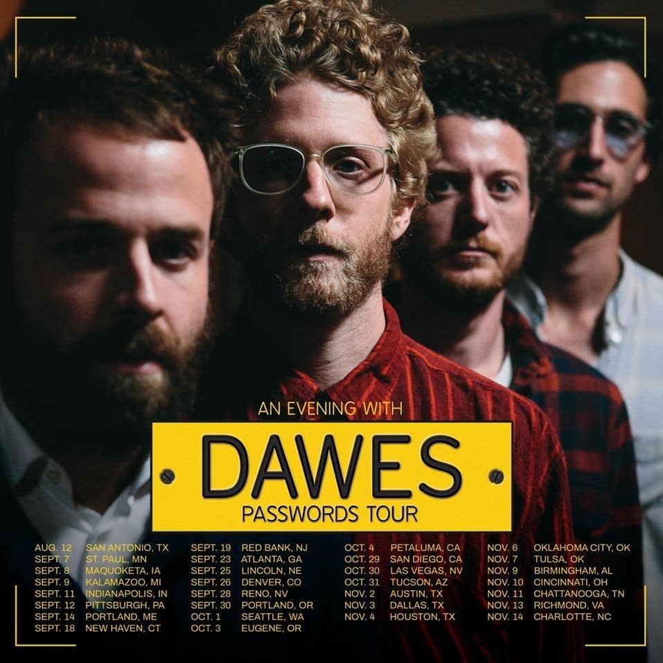 Dawes passwords tour