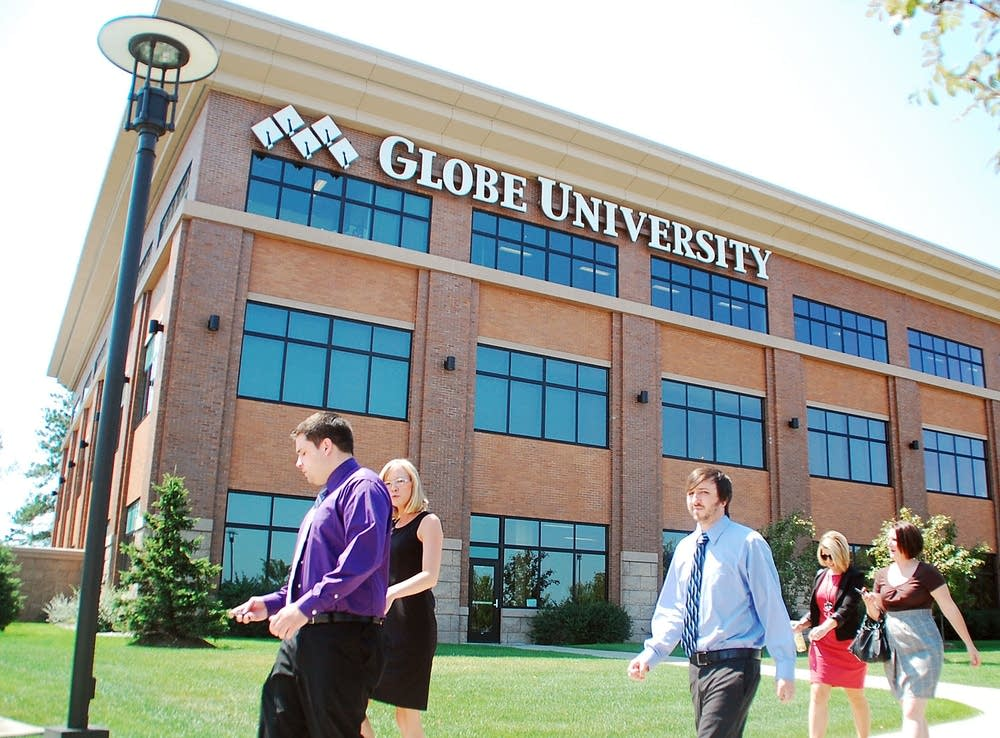 The Globe University campus in Woodbury, Minn.