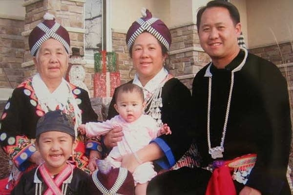 Mee Moua and her family