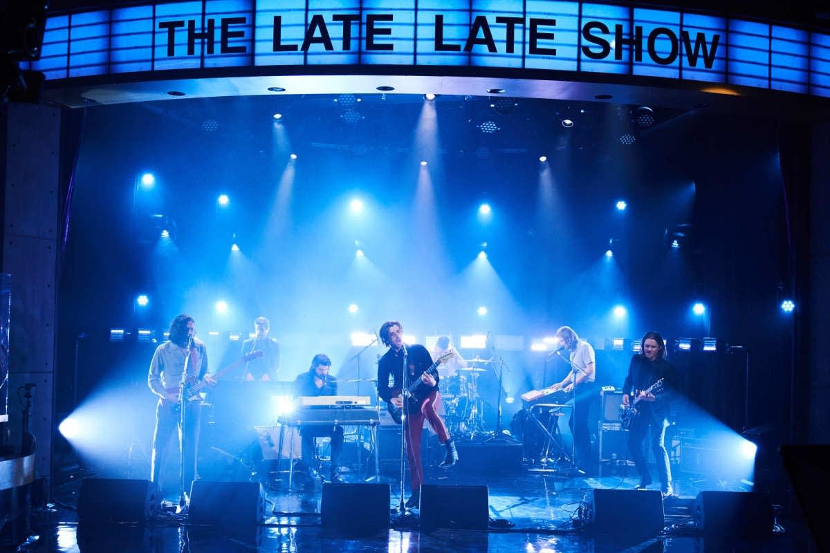 Arctic Monkeys on 'The Late Late Show with James Corden'