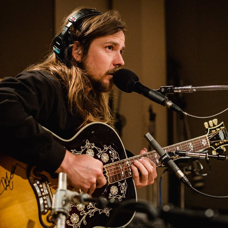 Lukas Nelson performs at Radio Heartland