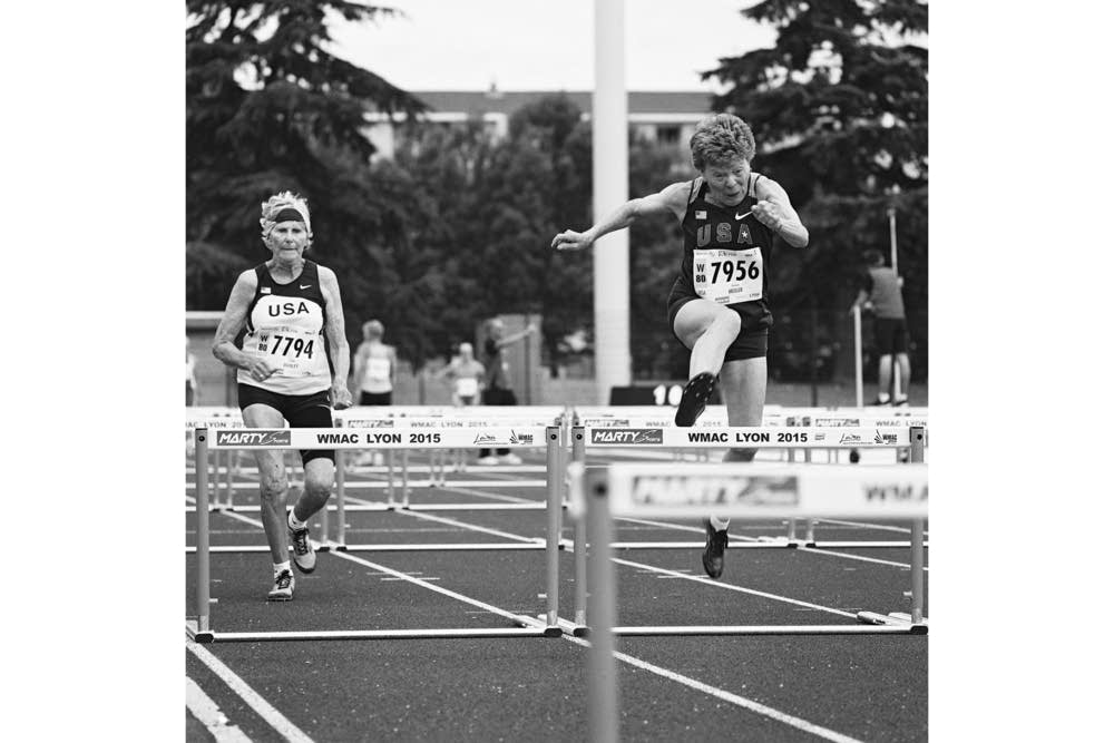 Christel Donley, and Flo Meiler. Womens 80-84