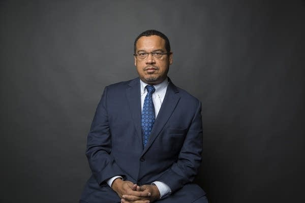 Attorney General-elect Keith Ellison poses for a portrait Friday.