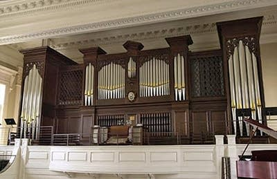 1972 Harrison organ at Christ Episcopal Church, Savannah, GA