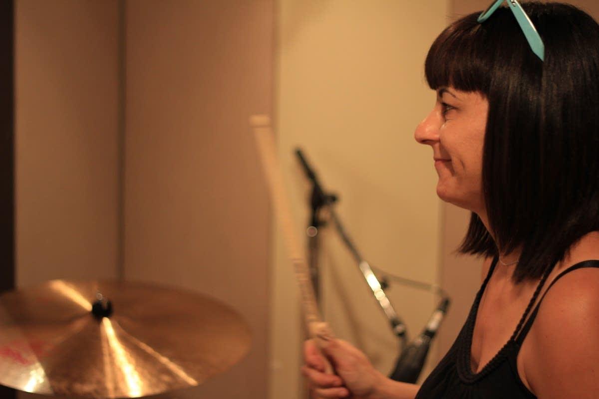 Drummer Janet Weiss