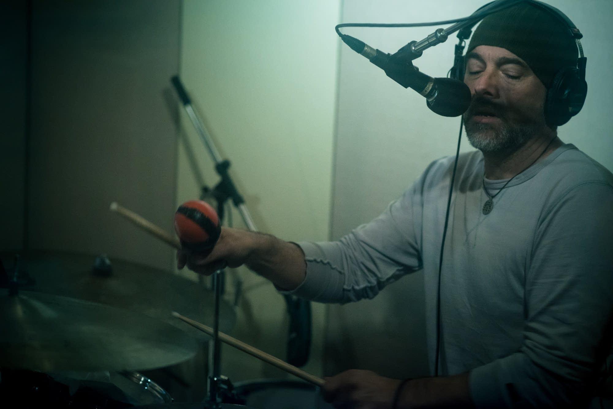 Drummer Tim Powles