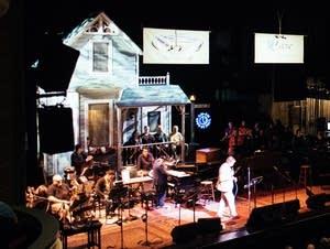 Garrison Keillor performs in 'A Prairie Home Companion' in 2015.