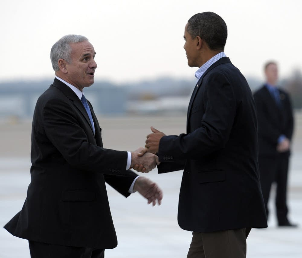 Barack Obama, Mark Dayton