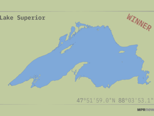 Lake Superior has triumphed as Minnesota's favorite.