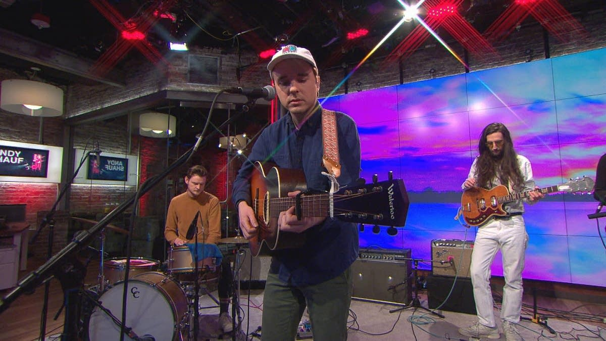 Andy Shauf performs on 'CBS This Morning' Saturday Sessions