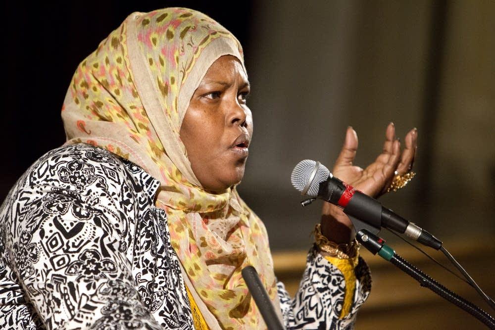 Community member and mother Deqa Hussen