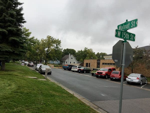 A Hastings officer shot and killed a stabbing suspect Monday.