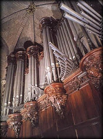 1868 Cavaillé-Coll organ at Notre-Dame Cathedral in Paris, France