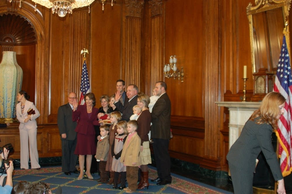 Walz swearing-in