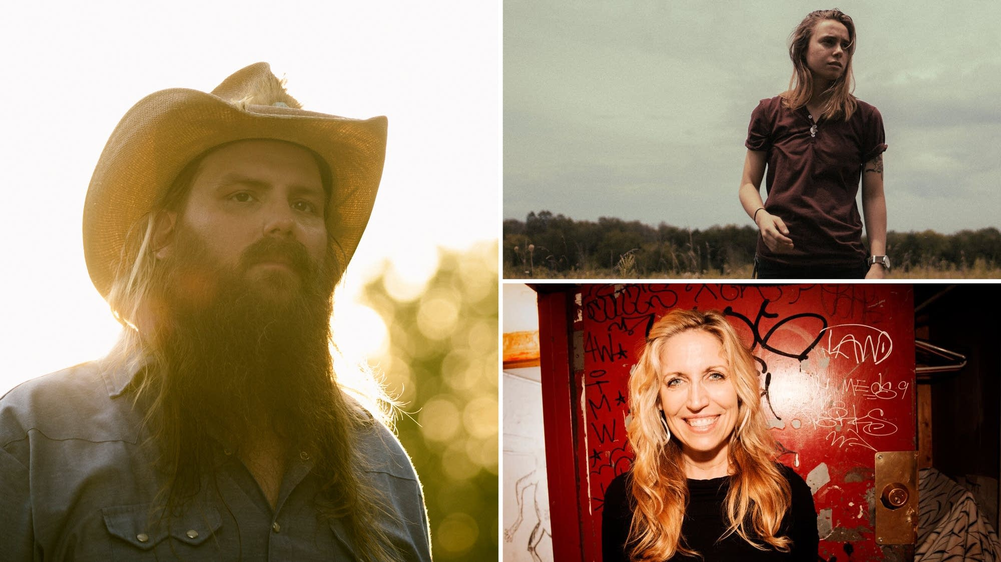 Chris Stapleton, Julien Baker, Laurie Kilmartin