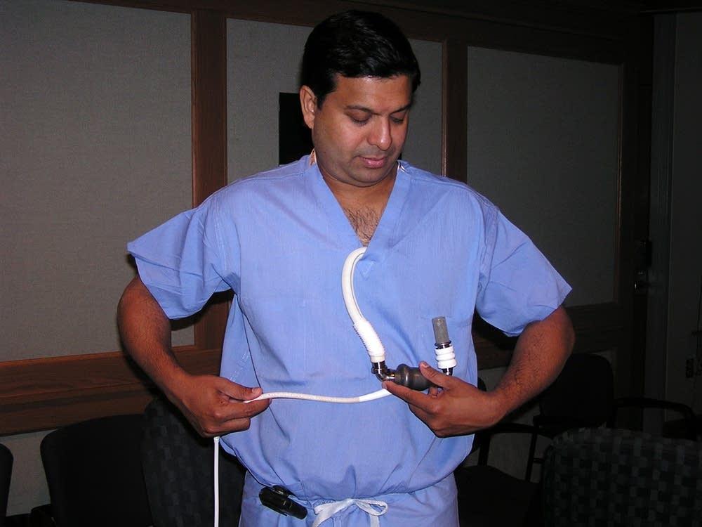 Dr. Ranjit John and the VAD