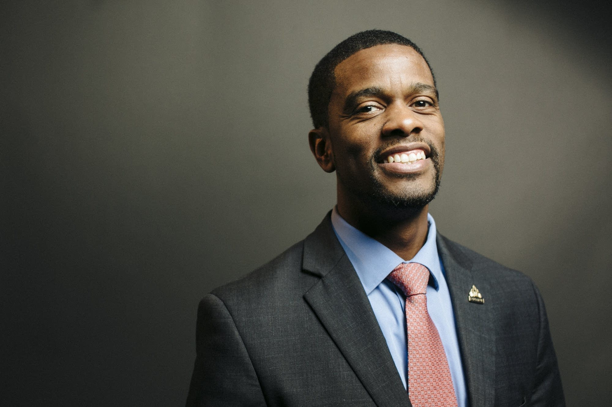 St. Paul Mayor Melvin Carter at the MPR Studios.