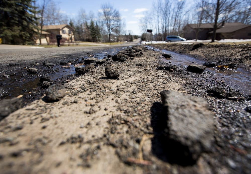 Harsh winters take a toll on roads.