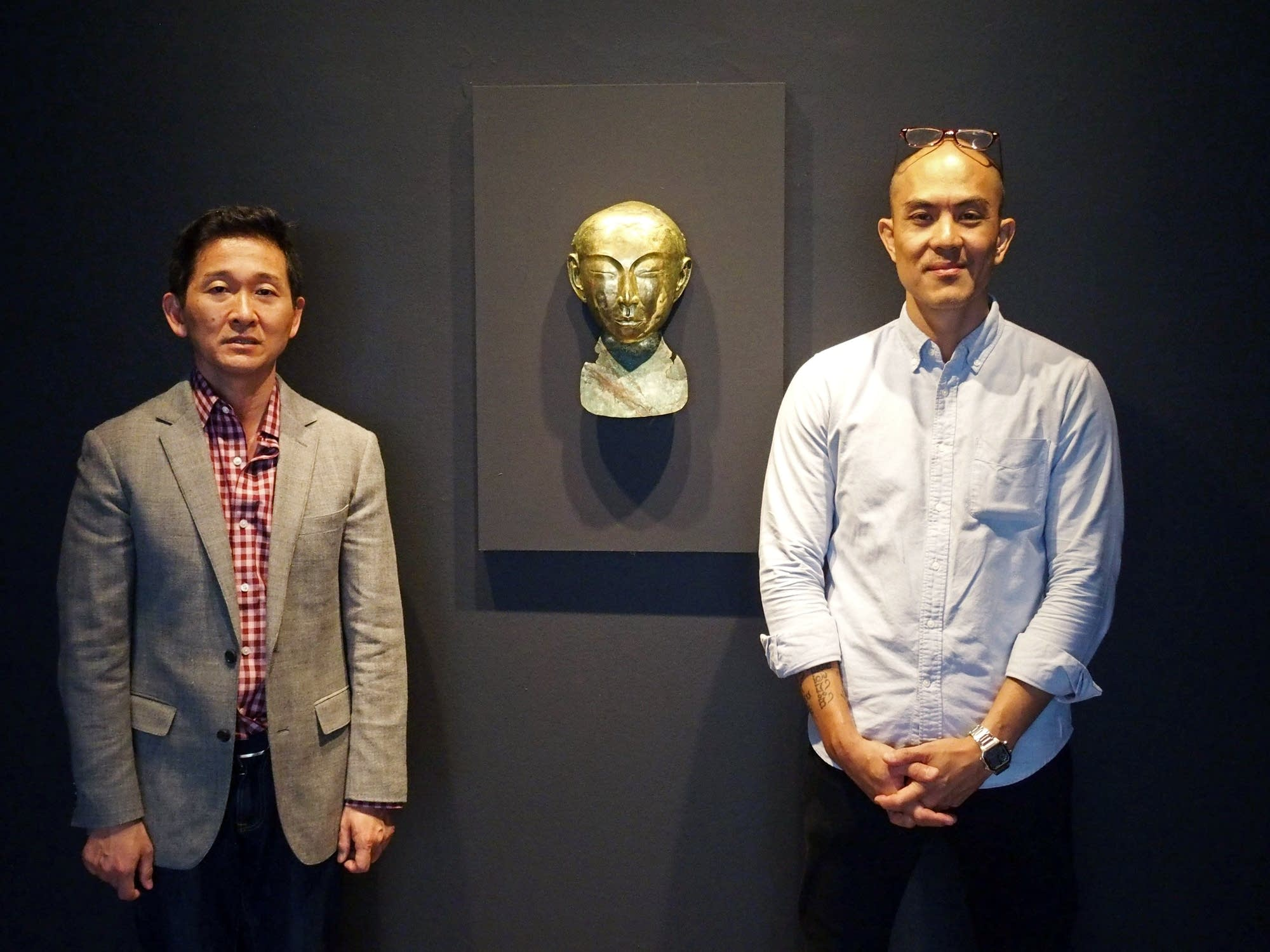 Yasufumi Nakamori, left, and Tuan Andrew Nguyen