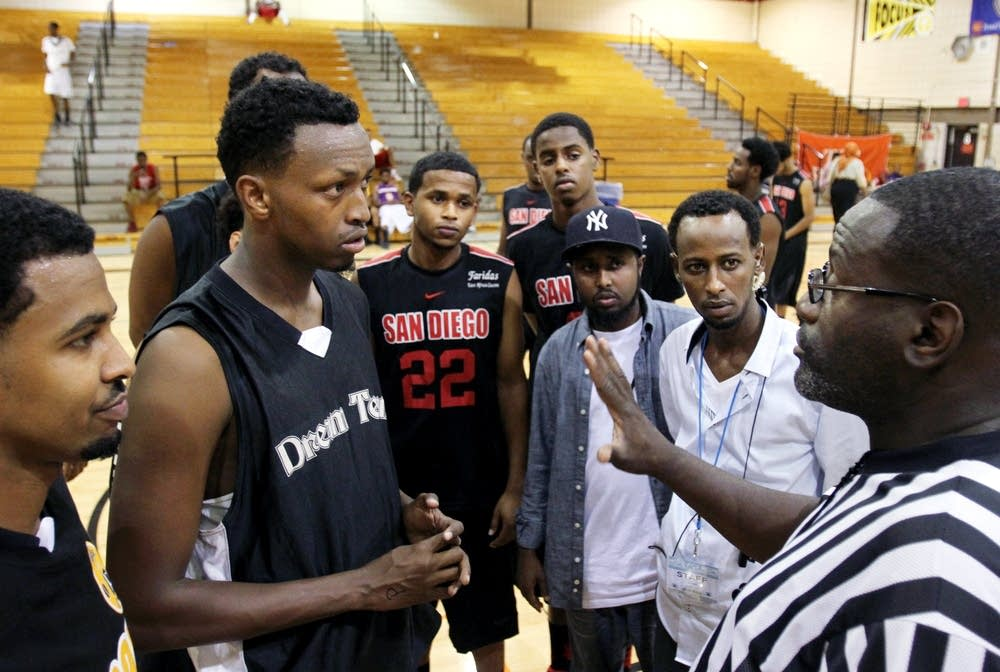 Somali basketball tournament