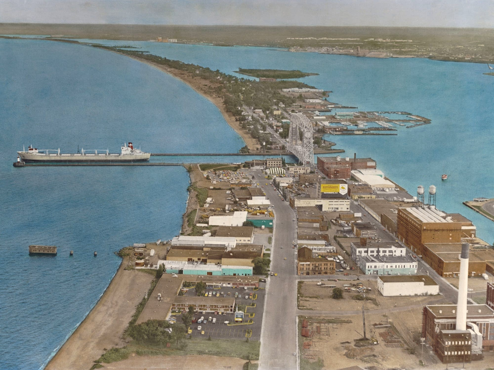 Canal Park in the 1970s