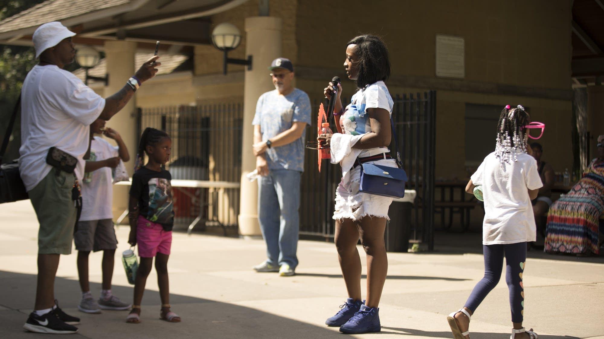 Remembering Philando Castile in Como Park