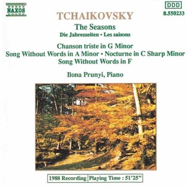 Peter Tchaikovsky - The Seasons: December: Christmas Naxos 8.550233