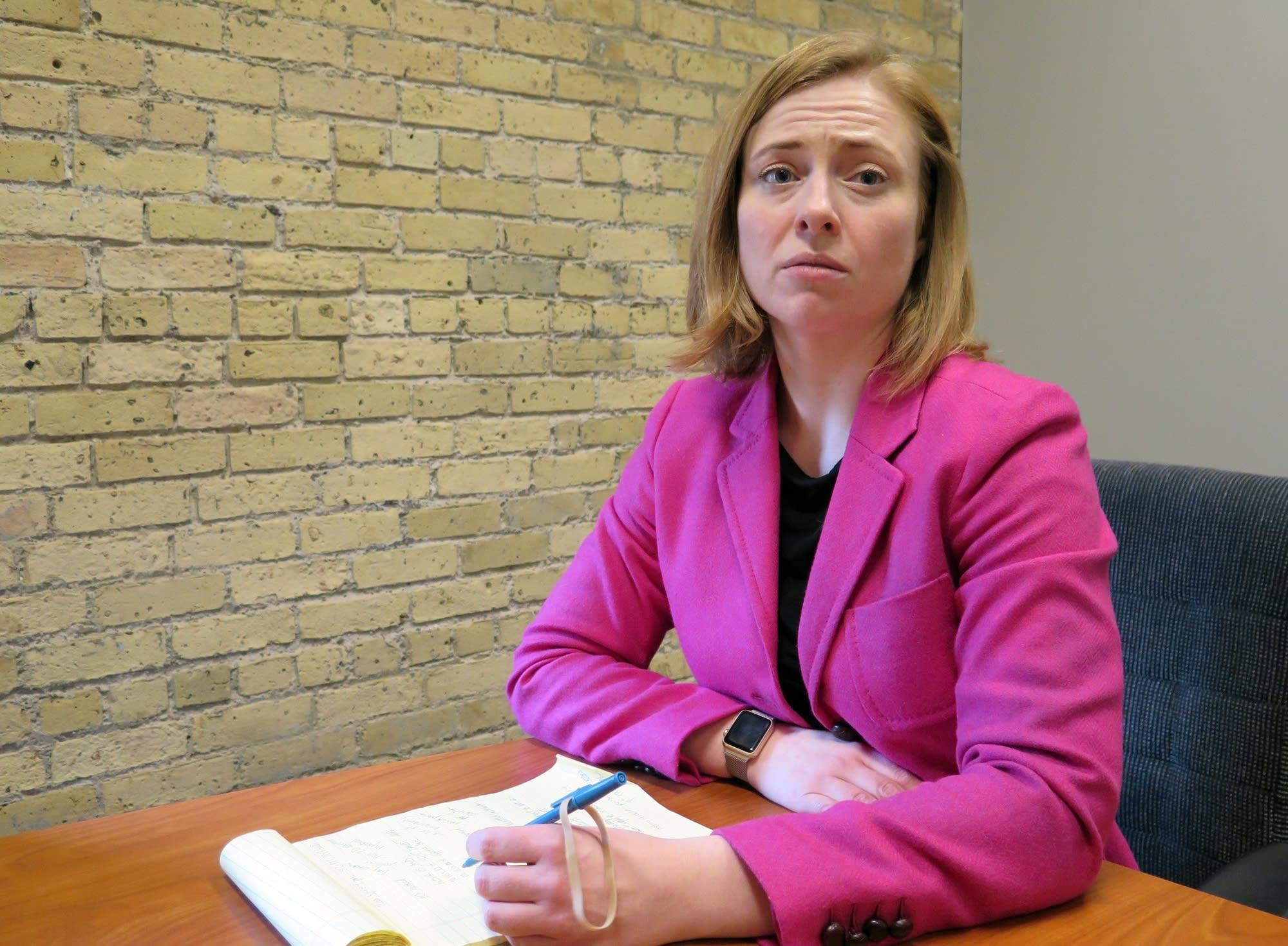 Immigration attorney Kara Lynum