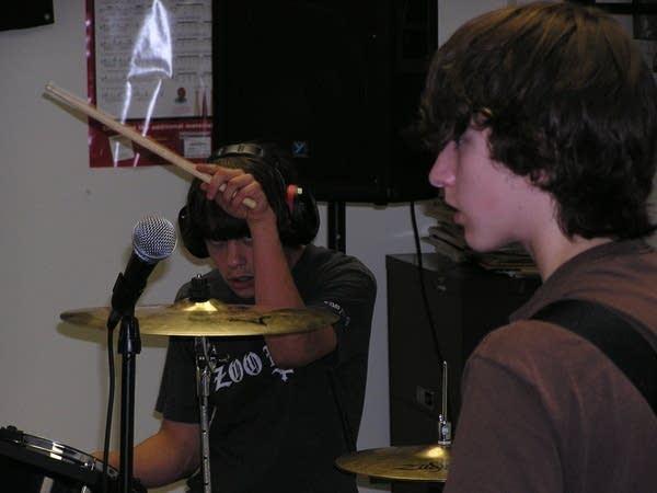 Playing punk