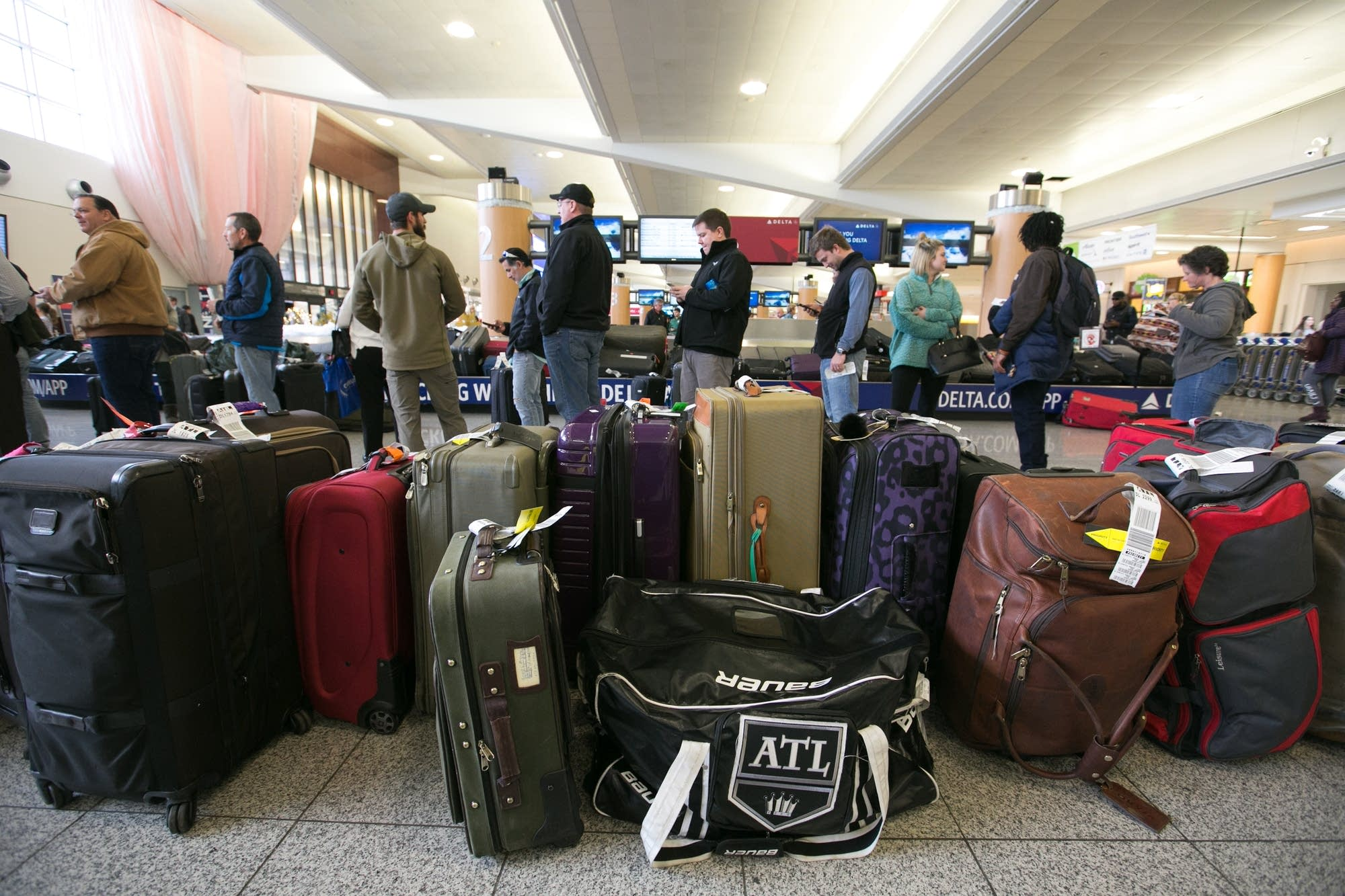 Hundreds of flights canceled after power outage at Atlanta airport.