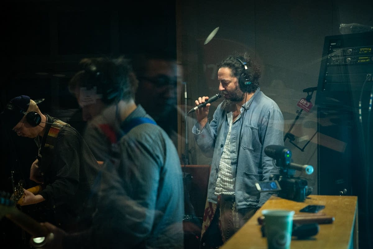 Destroyer perform in The Current studio