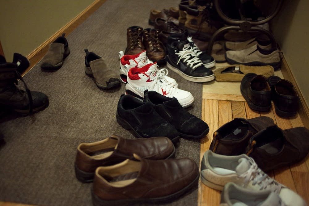 Shoes at Next Chapter Ministries