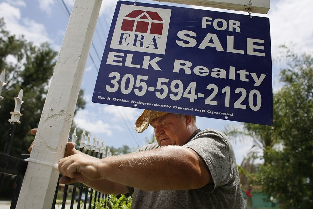 Home prices fall again