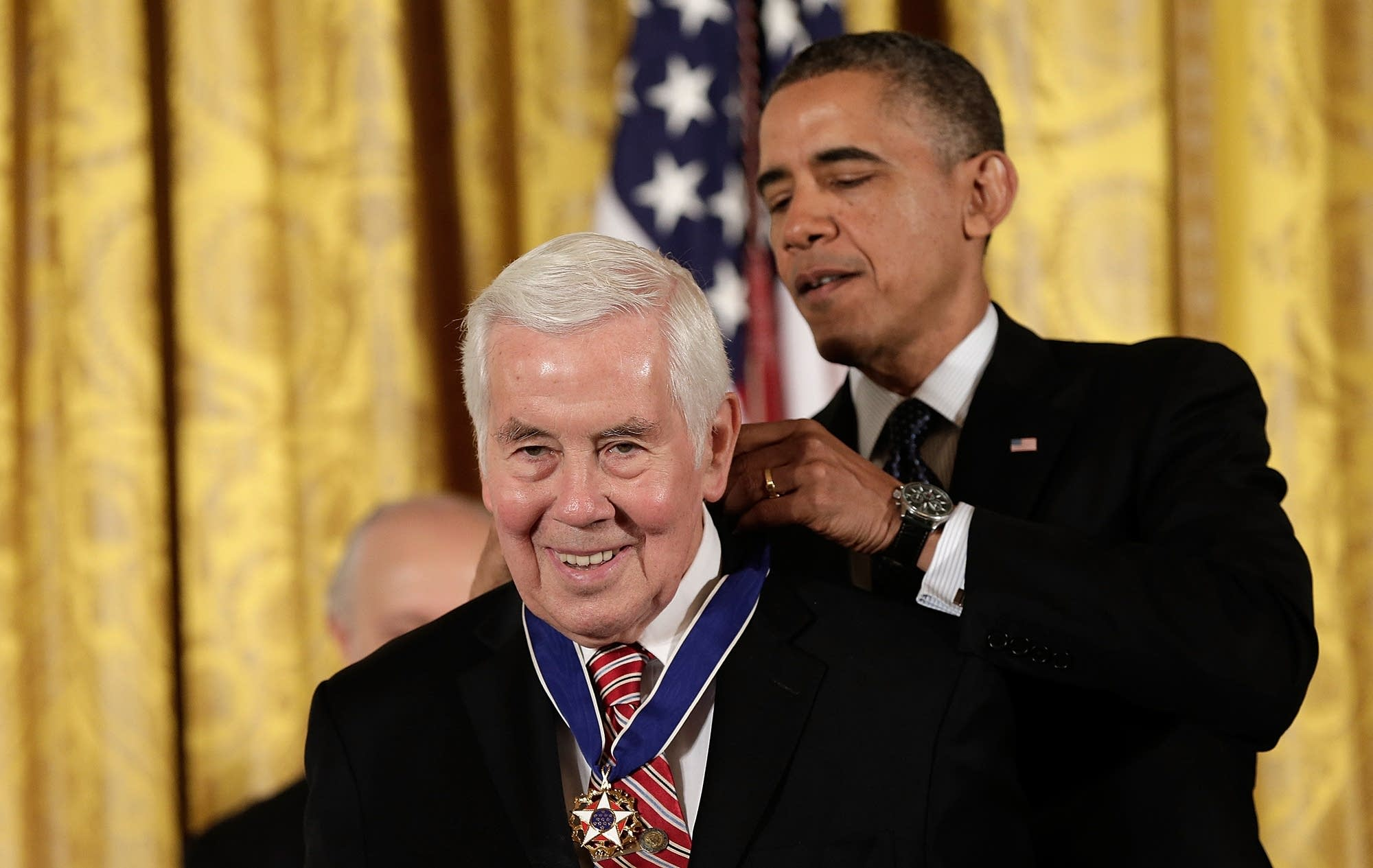 President Obama Awards Presidential Medal Of Freedom to Richard Lugar