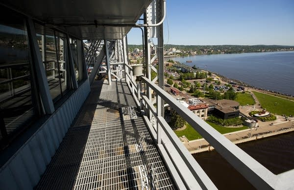 View of Canal Park and Duluth
