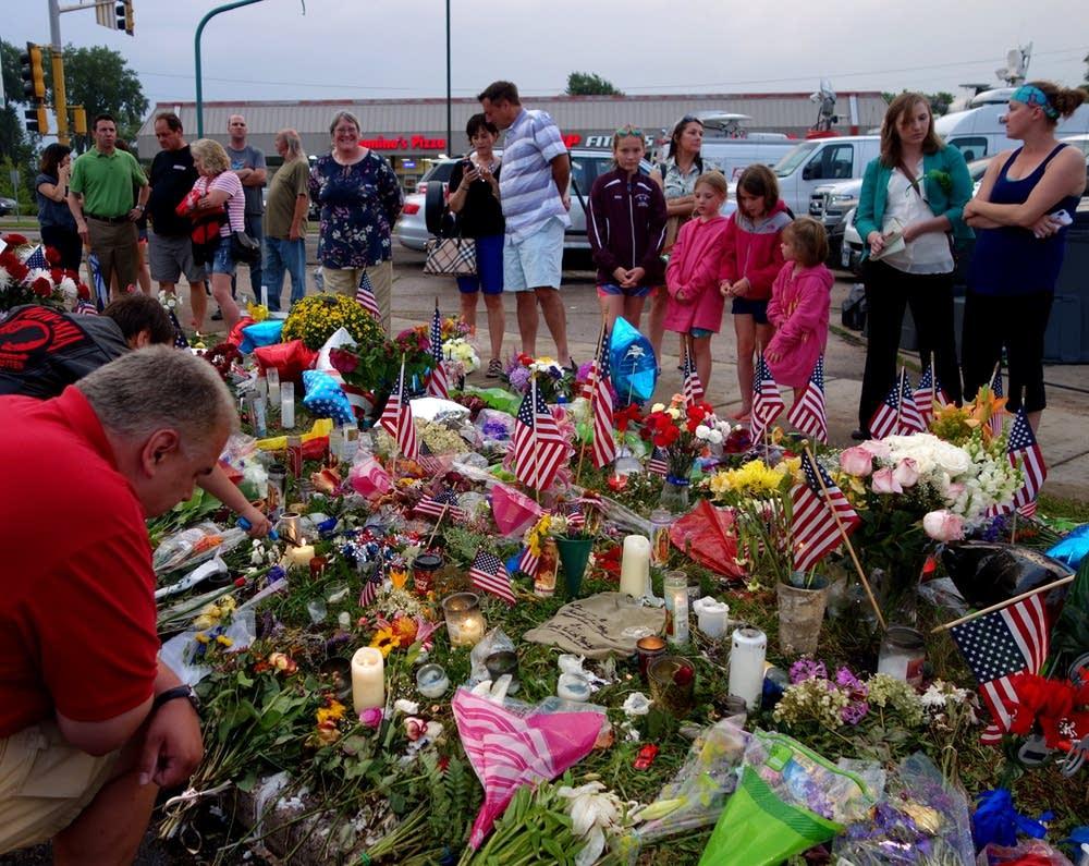 Memorial for Officer Scott Patrick