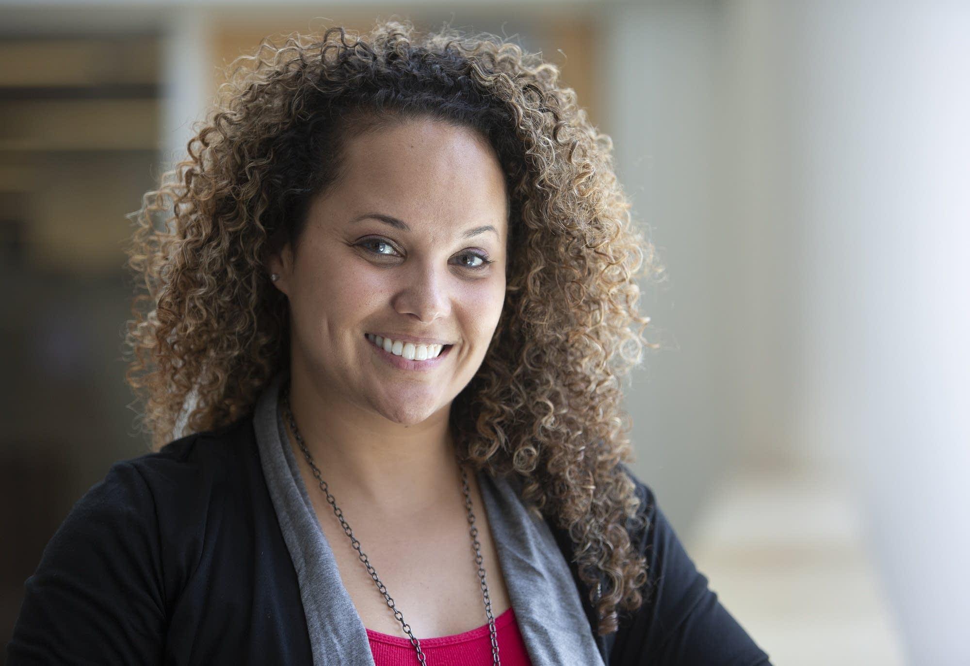 Jessica Davis was named Minnesota Teacher of the Year.