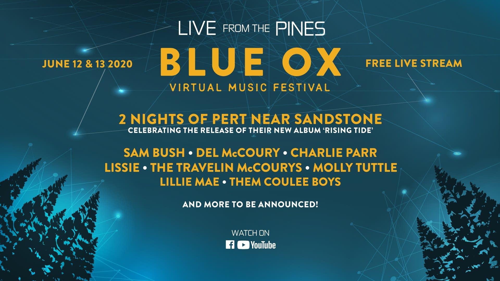 Blue Ox Virtual Music Festival
