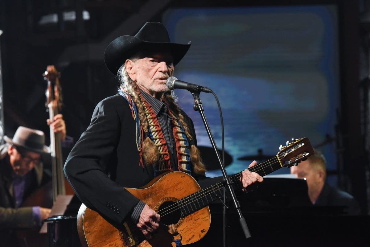 Willie Nelson on 'The Late Show with Stephen Colbert'