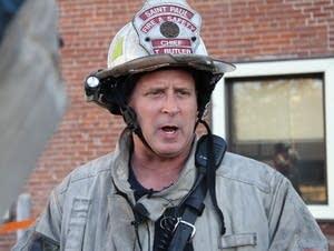 Fire Chief Tim Butler